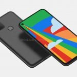 No surprises:  Google Pixel 5 smartphone poses for 360-degree video and renders in all its glory