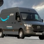 Amazon ordered 1800 eVito and eSprinter electric cargo vans from Mercedes.  They will be used for deliveries in Europe already in 2020