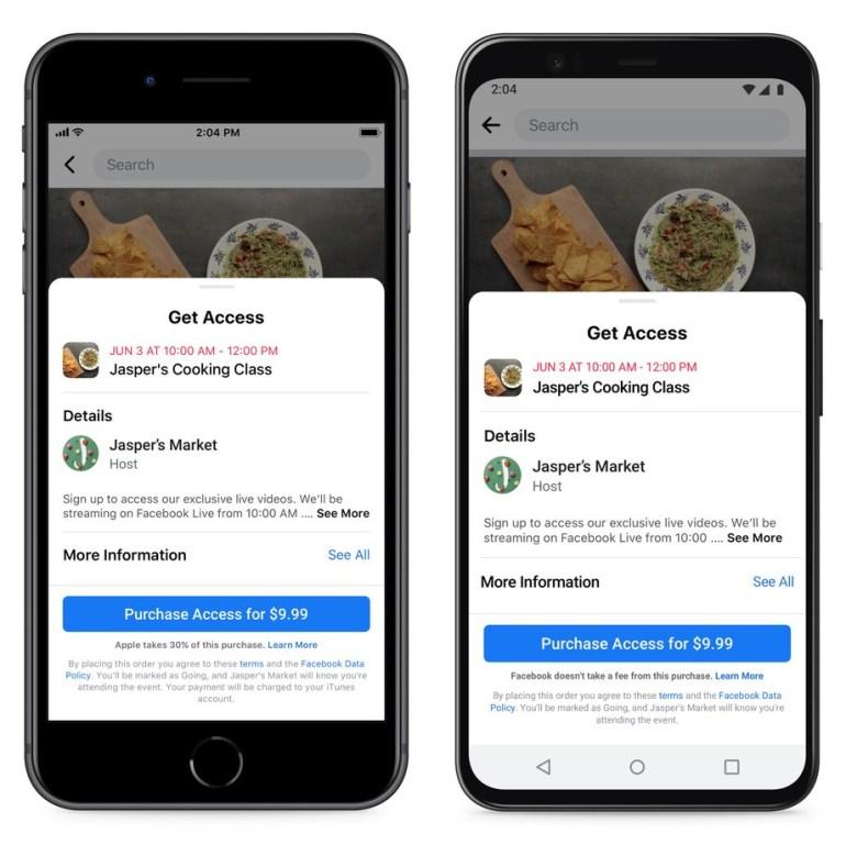 Apple Blocks Facebook App Update That Cites App Store's 30 Percent