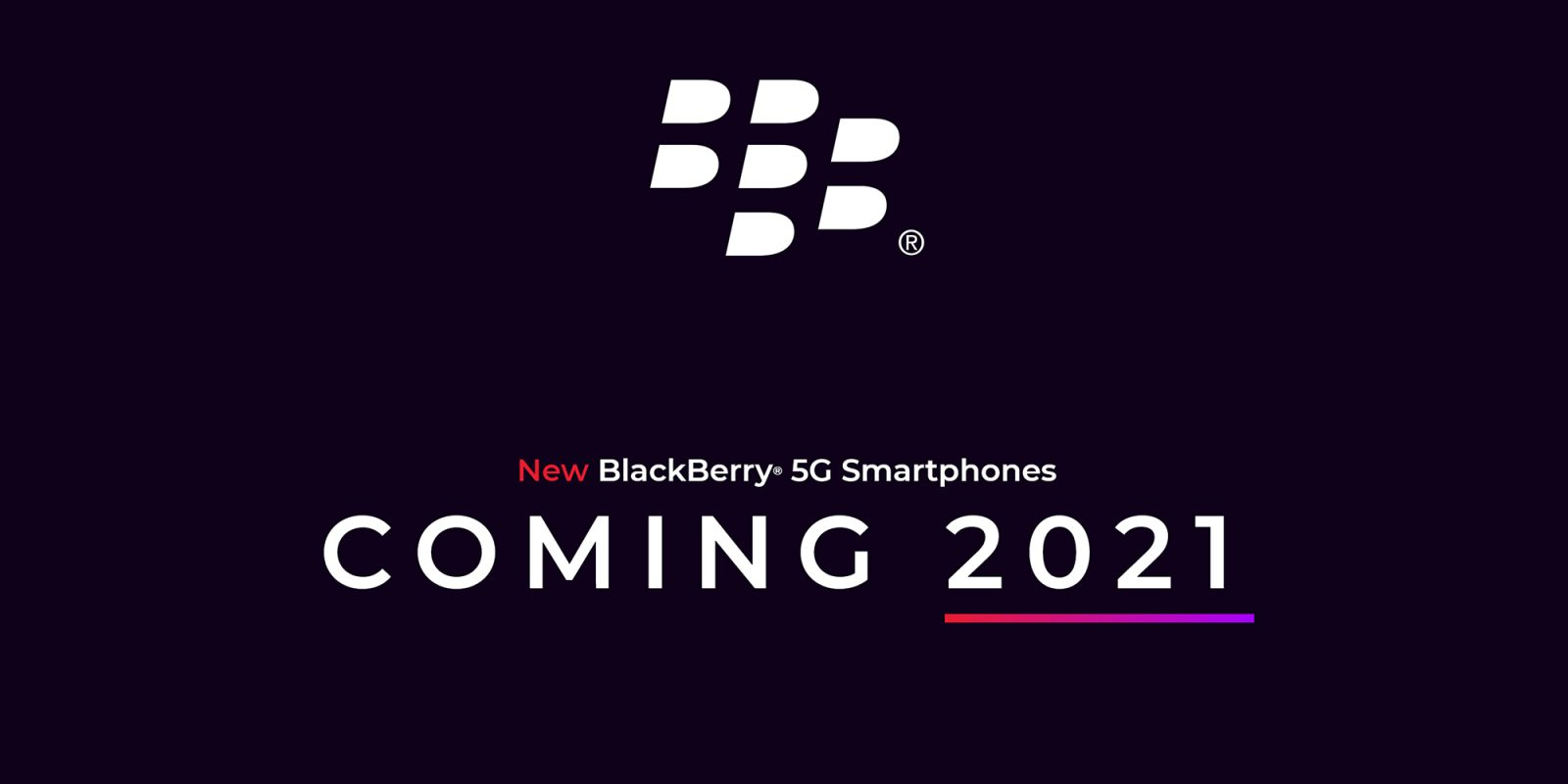 Blackberry will release a new smartphone with a physical keyboard in 2021 TechRechard
