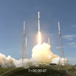 SpaceX launches first stage Falcon 9 rocket for the first time, which has already been used five times