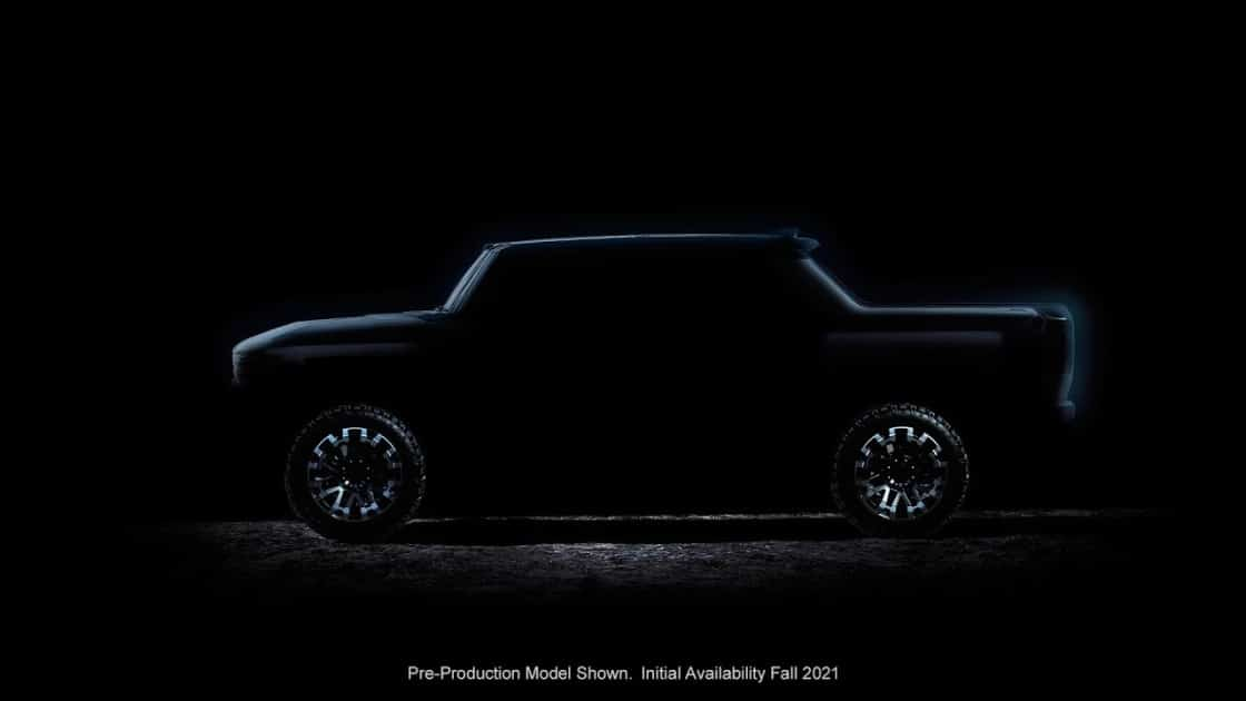 GMC teases 1000hp electric Hummer in pickup and SUV bodies TechRechard