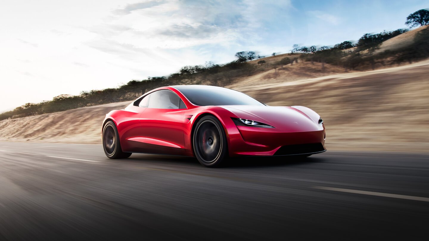 Elon Musk confirmed that Tesla Roadster will receive wheels with a central nut TechRechard