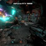 NVIDIA GeForce RTX 3080 versus GeForce RTX 2080 Ti in Doom Eternal at 4K resolution
