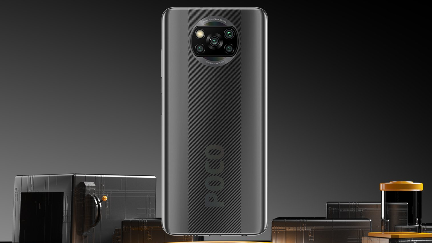 Poco X3 NFC officially presented TechRechard
