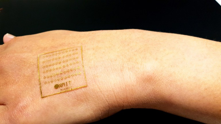 Researchers have developed e-skin that responds to pain like human skin