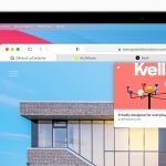 A new version of Safari 14 has been released with improved tabs