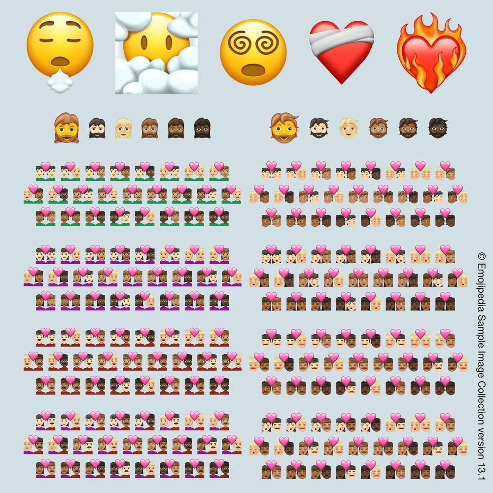 217 new emoji coming to our smartphones in 2021 TechRechard