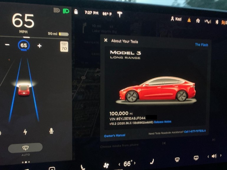 Tesla Model 3 Flight Magazine: 100,000 Miles in 2 Years, Low Ownership Costs and Minimal Battery Degradation