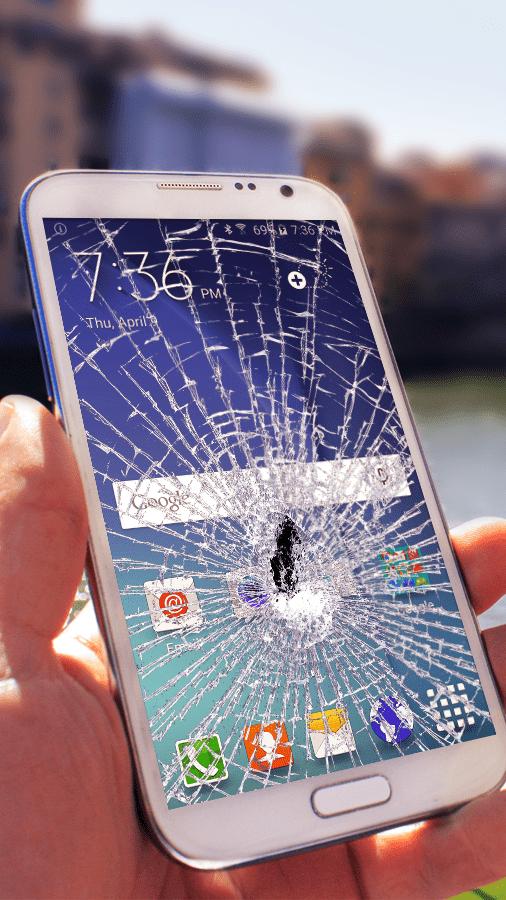 Broken phone screen: what to do