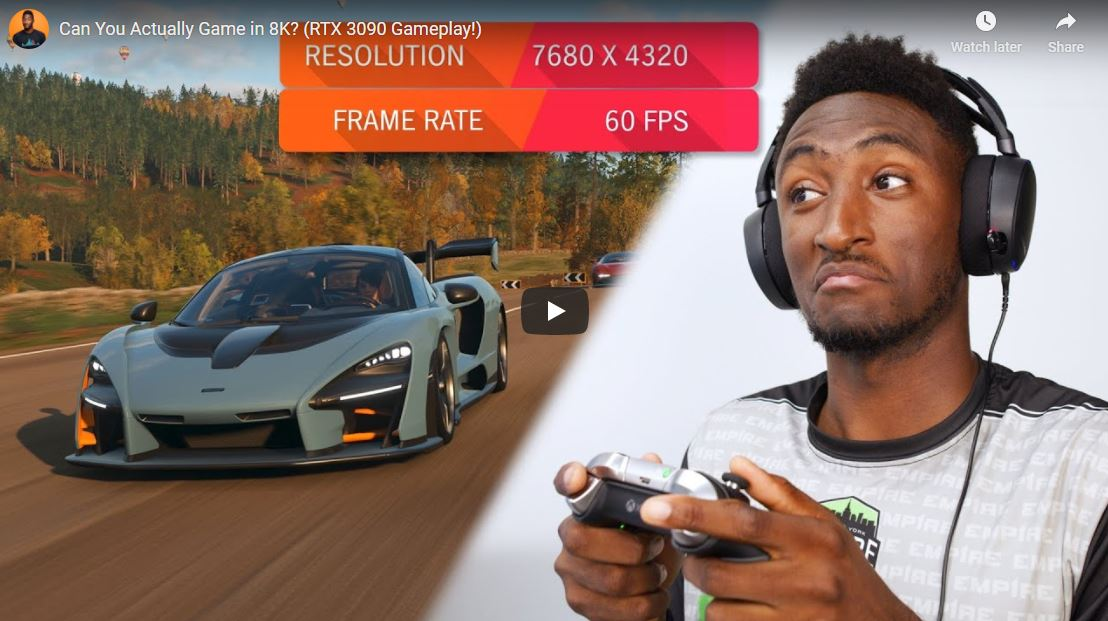 GeForce RTX 3090 tested in games at 8K resolution: It can really provide a comfortable frame rate TechRechard