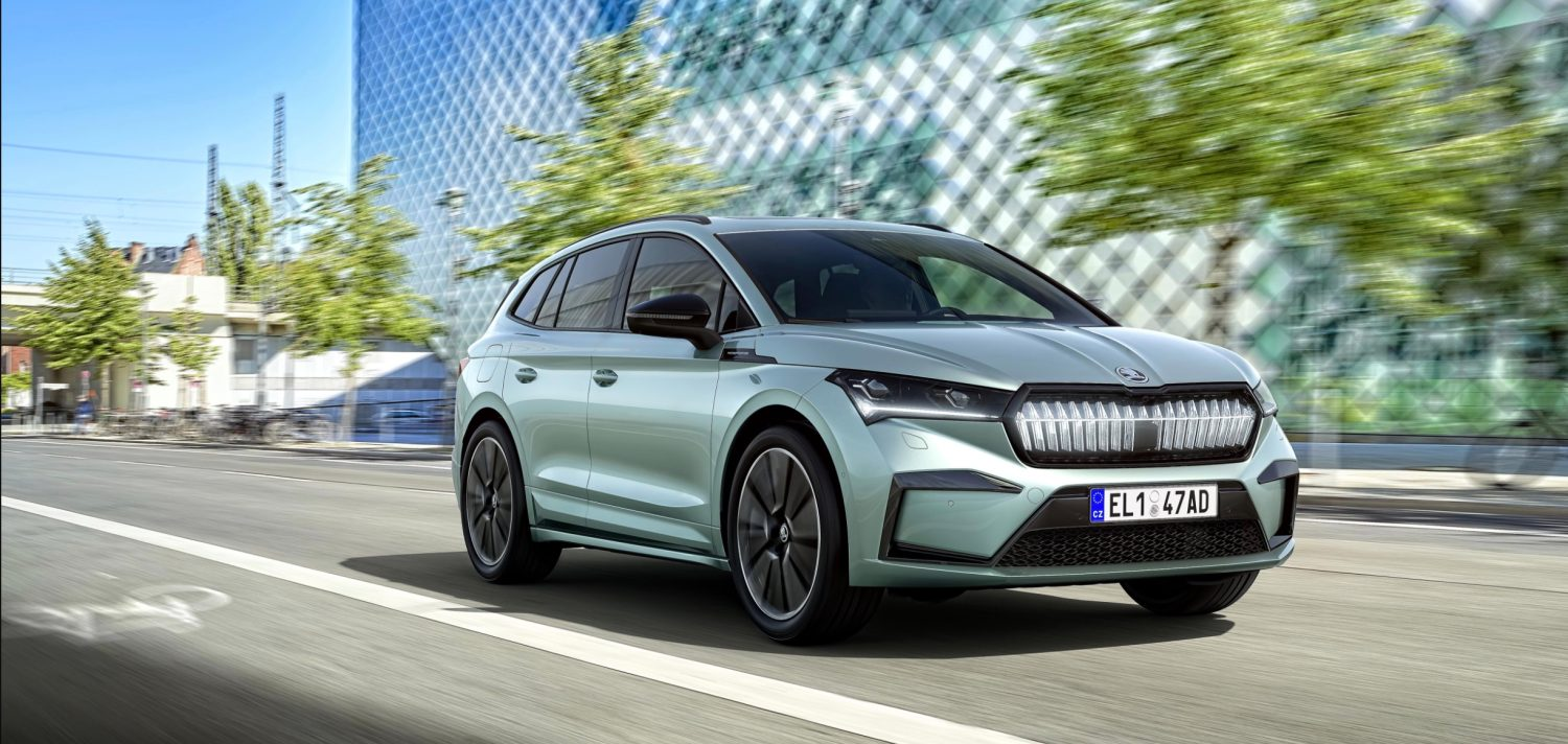 Skoda introduced the serial version of the Enyaq iV electric crossover TechRechard