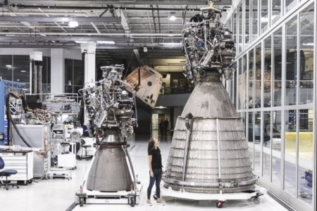 SpaceX fired a vacuum version of the Raptor engine for the Starship interplanetary spacecraft