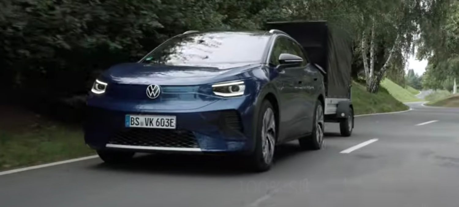 Volkswagen plans to sell 500,000 ID.4 electric crossovers a year TechRechard