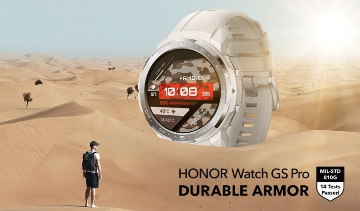 Honor introduced smart watches Watch GS Pro and Watch ES TechRechard