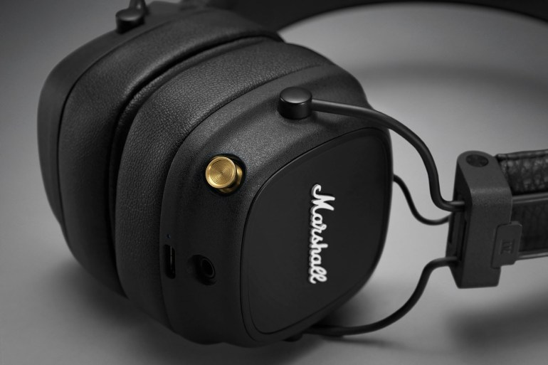 New Marshall Major IV wireless earbuds can run up to 80 hours of battery life and support Qi wireless charging