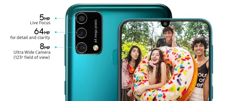 The budget smartphone Samsung Galaxy F41, which opens a new line, almost does not differ from the Galaxy M31
