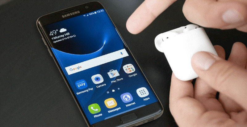 AirPods headphones and smartphone: how to install and use