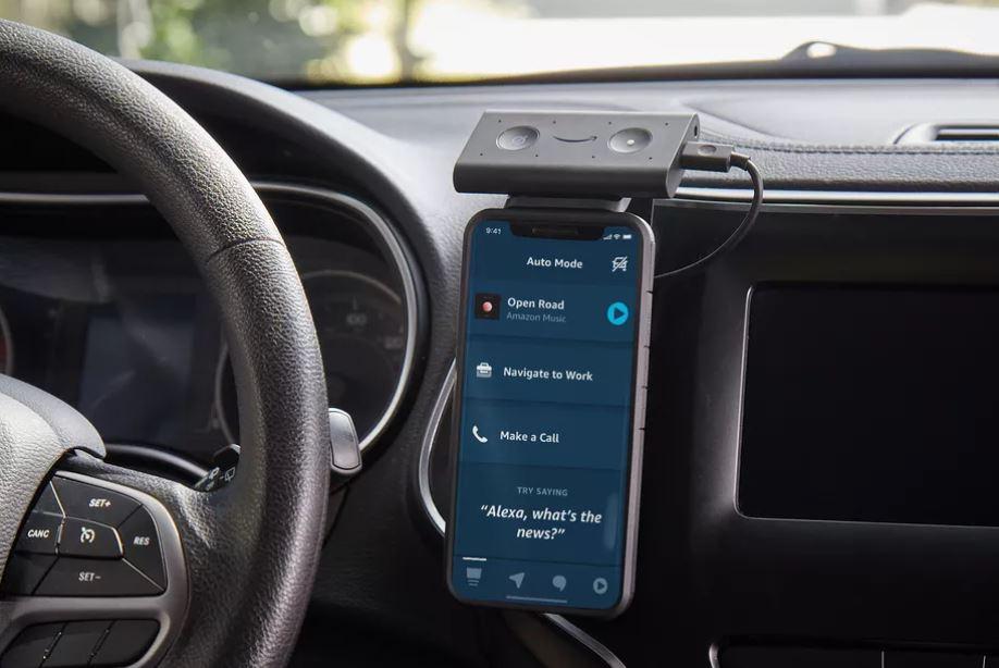 Amazon Alexa App Coming Soon to Car Mode for Echo Auto Device TechRechard
