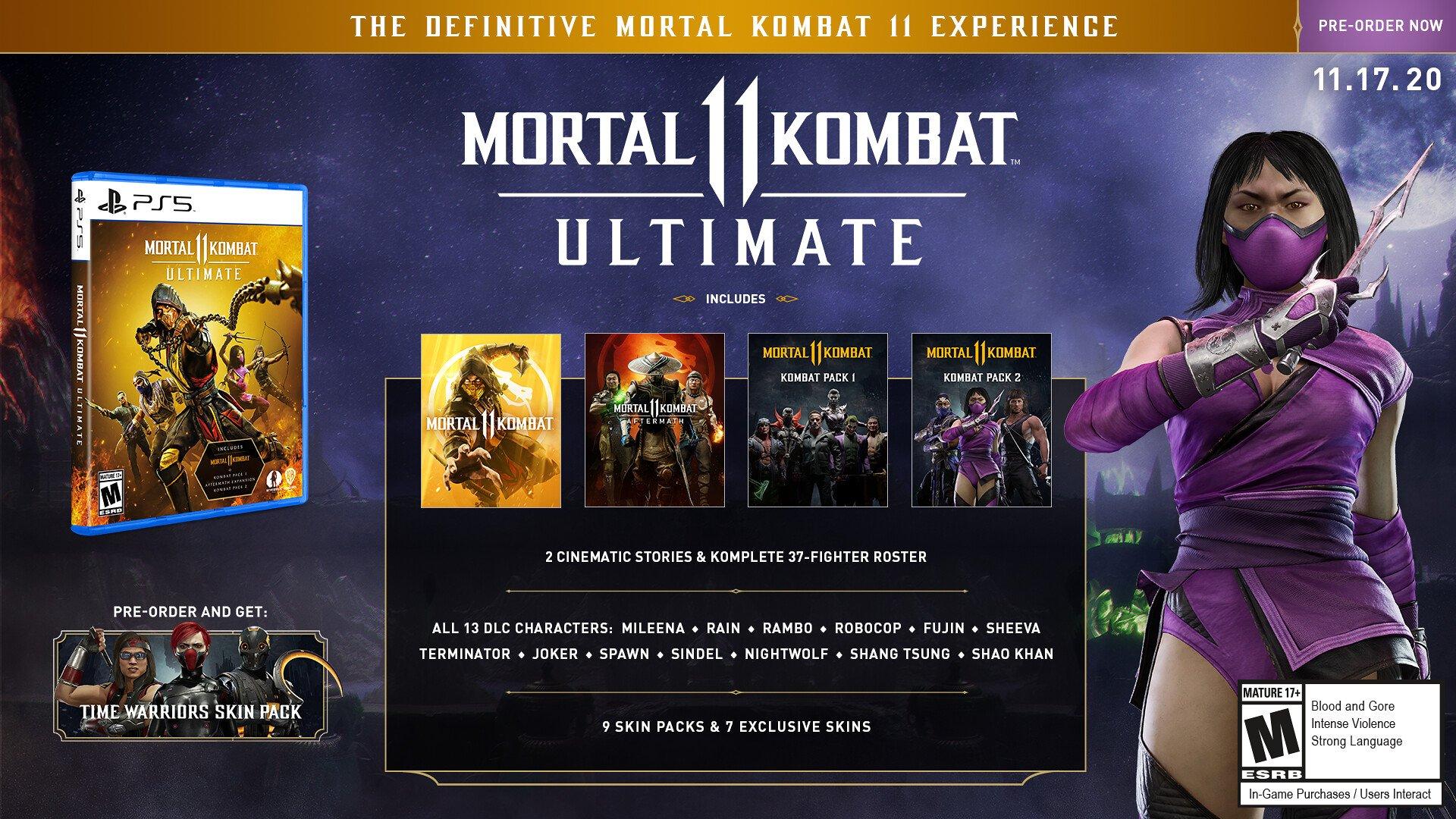 Mortal Kombat 11 Ultimate will be playable as Rambo TechRechard