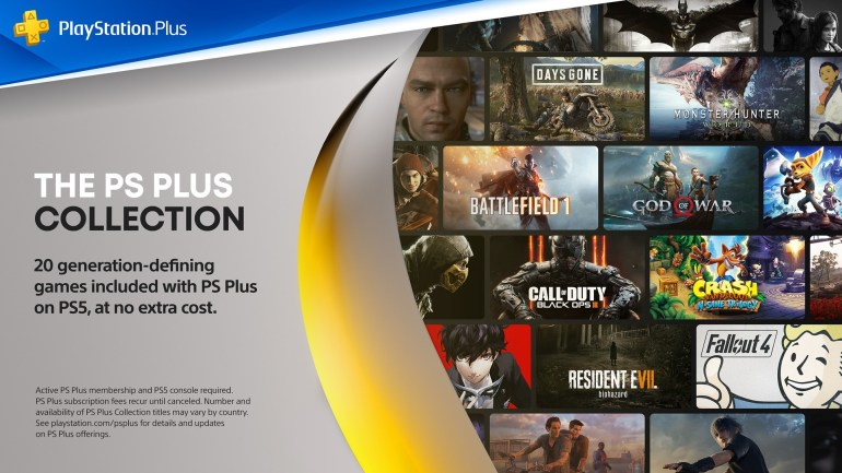 Sony details how PS Plus Collection will work on PS5