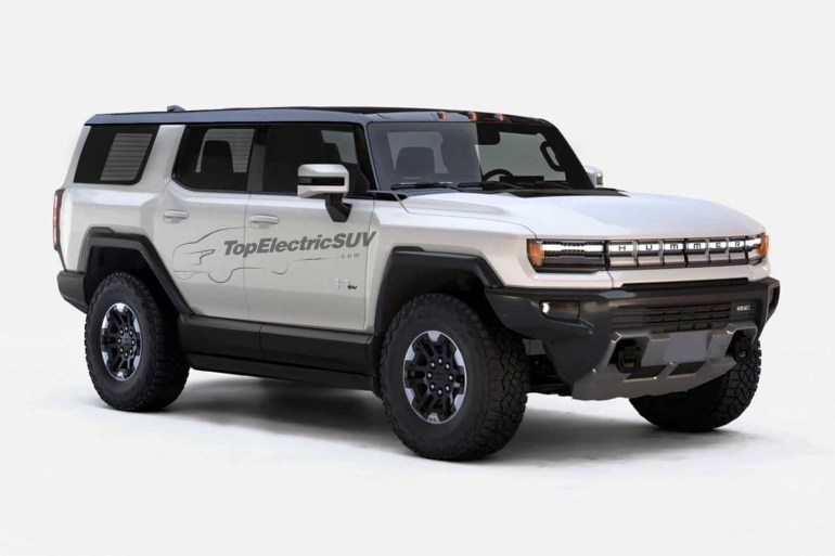 The GMC Hummer EV electric pickup is officially presented: three engines with a capacity of up to 1000 hp, a range of up to 560 km and a cost of $ 80,000 to $ 112,500.