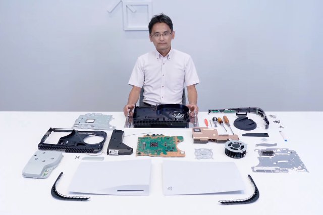 Sony showed the process of disassembling the PlayStation 5 TechRechard