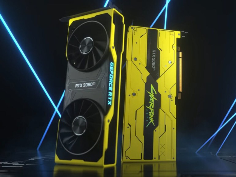 CD Projekt is giving away one-off GeForce RTX 3080 Cyberpunk 2077 Edition graphics card