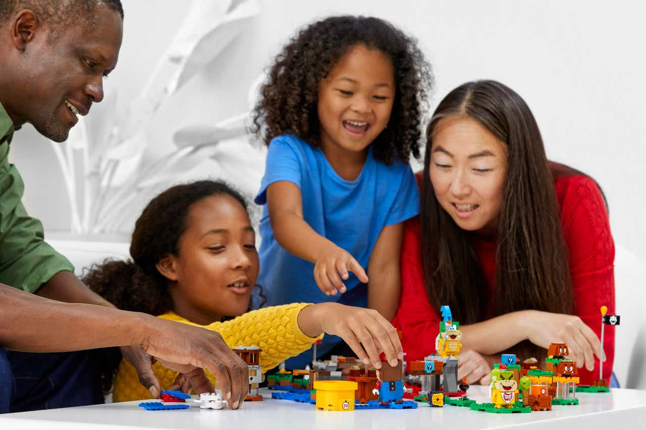New Lego Super Mario sets let you create a wide variety of levels TechRechard