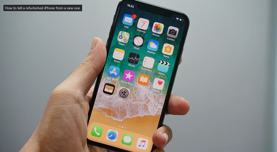 How to tell a refurbished iPhone from a new one? TechRechard