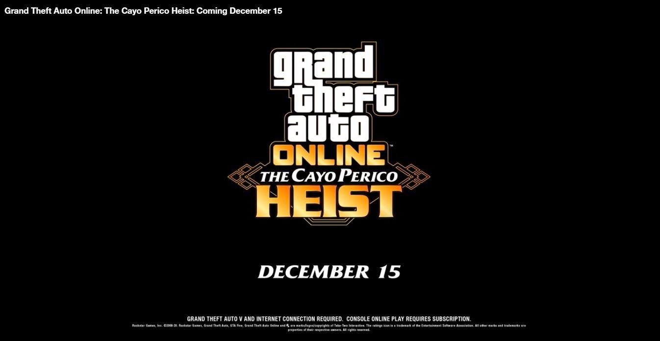 "Rockstar Announces Solo Heist In GTA Online ""The Cayo Perico Heist"" TechRechard"