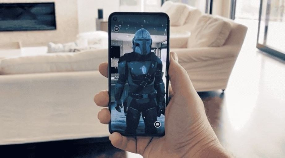 Google collaborates with Disney to launch an AR app featuring The Mandalorian characters for 5G smartphones TechRechard