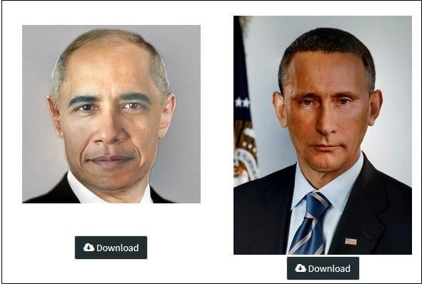 How to change the face in the image online