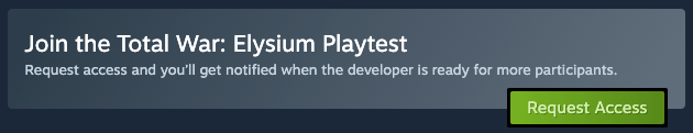 Steam launches the Playtest function to attract users to test the game directly from the service client