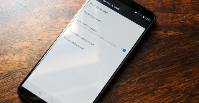 How to reset Android settings to factory settings? TechRechard
