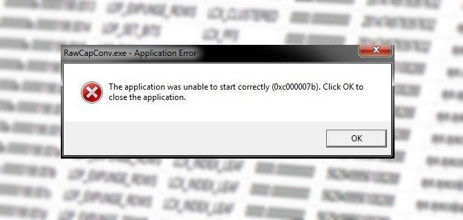 How to fix error 0xc0000007b when starting the program? TechRechard