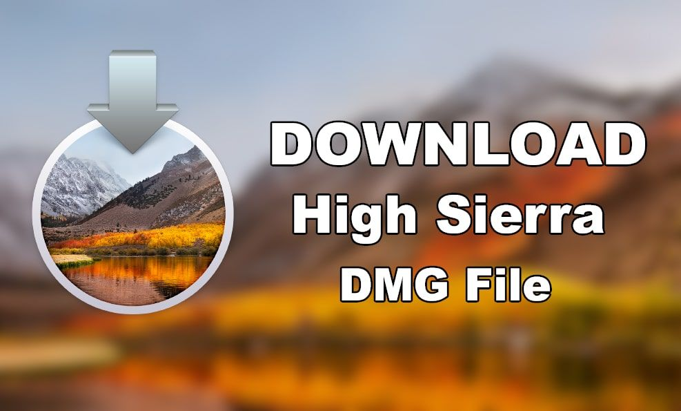 Download MacOS High Sierra 10.13.6 DMG File