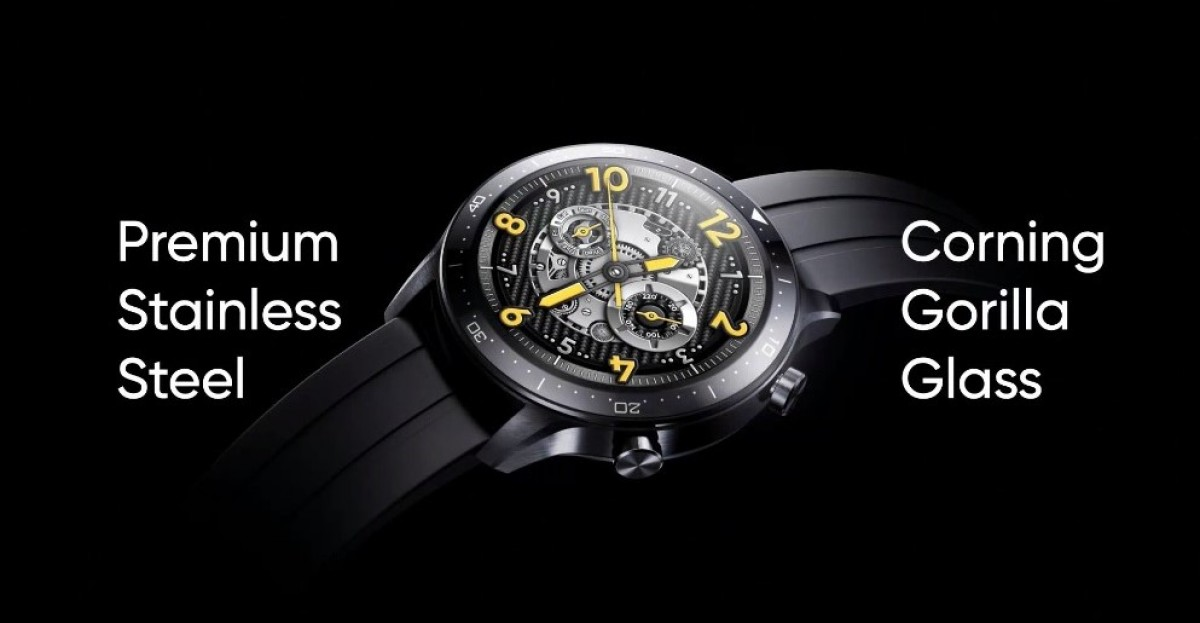 Realme announced the Watch S Pro smartwatch and Buds Air Pro Master Edition headphones TechRechard
