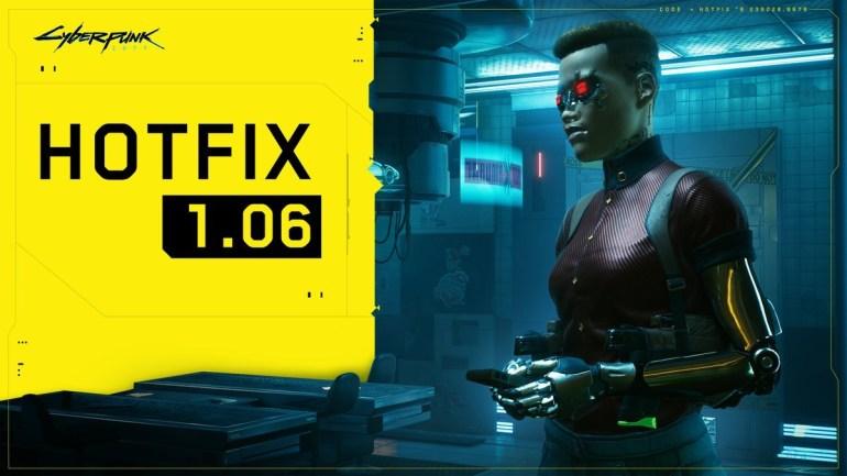 Cyberpunk 2077 Update 1.06 Fixes Save File Corruption
