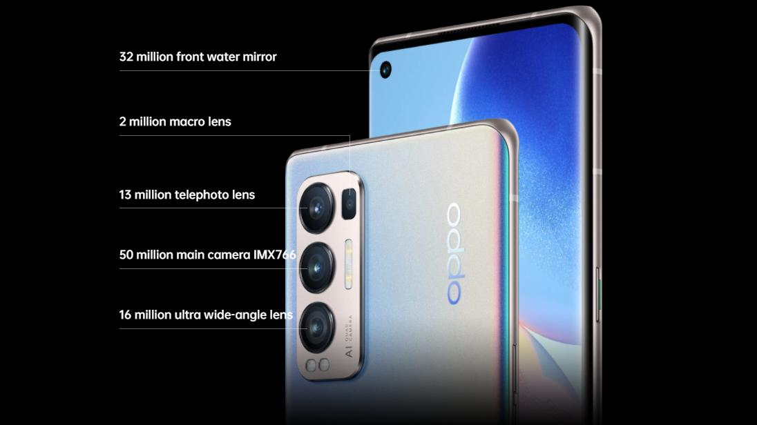 Oppo Reno5 Pro + 5G received Snapdragon 865 and IMX766 module TechRechard