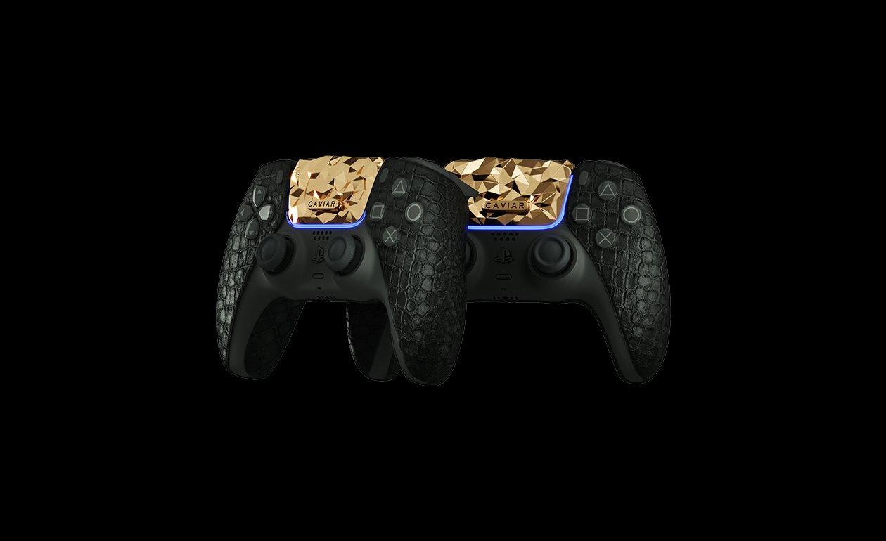 Caviar announced an all-gold PlayStation 5