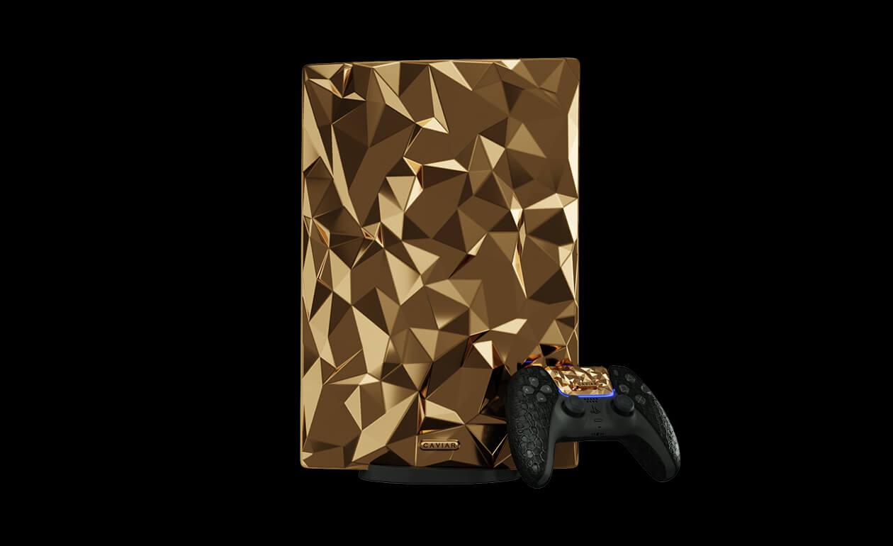 Caviar announced an all-gold PlayStation 5 TechRechard