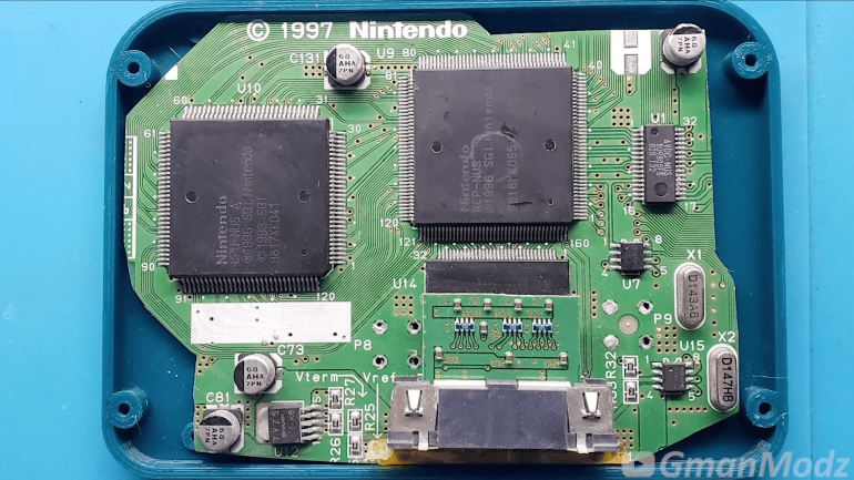 Modderr created a pocket-sized version of the Nintendo 64 console that was even smaller than its original controller