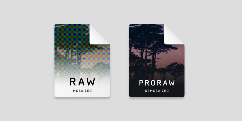 Developer Halide: Apple's new ProRAW format is a slightly improved DNG that has been around since 2004