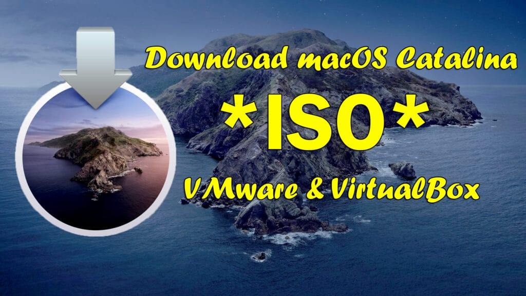 How To Download Macos Catalina Vmware and Virtualbox Image – 10.15.7 TechRechard