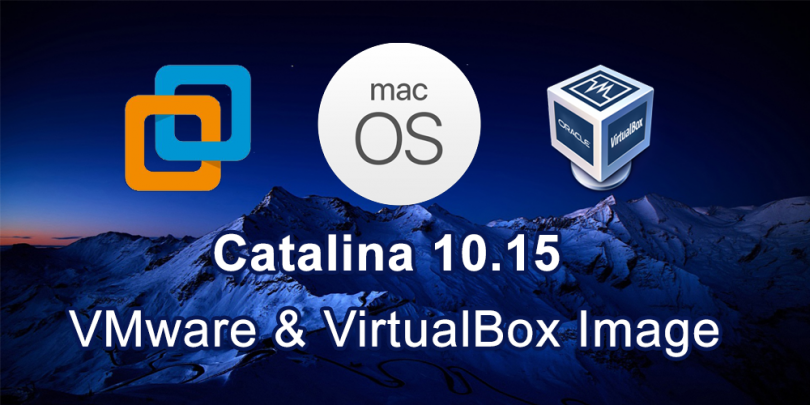 Download Macos Catalina Vmware And Virtualbox Image