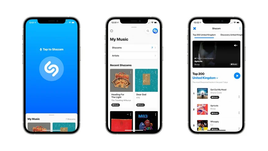 Shazam gets an updated interface on iOS and web version TechRechard