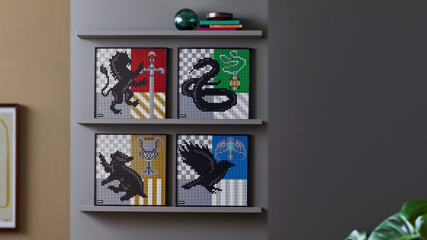 """The Lego Art line has been replenished with a new set from """"Harry Potter"""" TechRechard"""