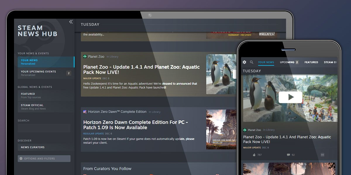 Valve launches personalized news section on Steam TechRechard