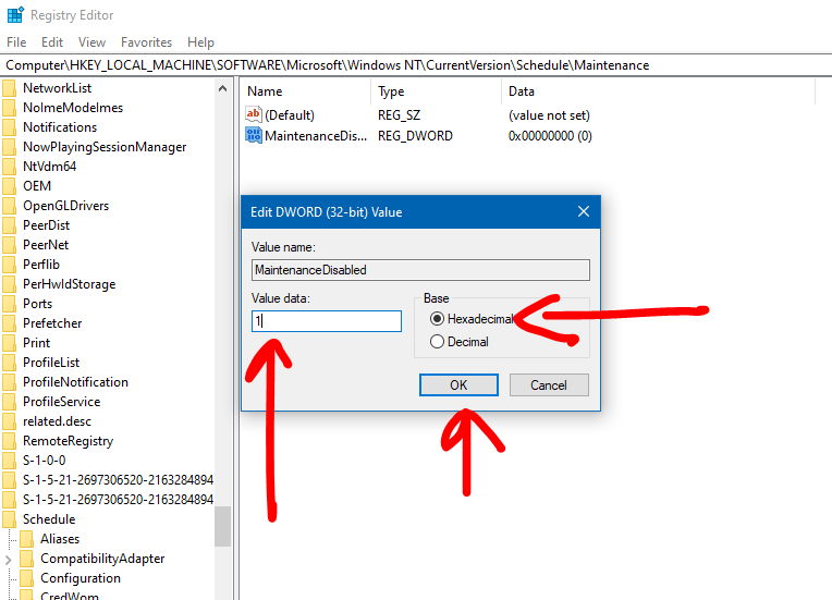 How to Change or Disable Automatic Windows 10 Maintenance TechRechard